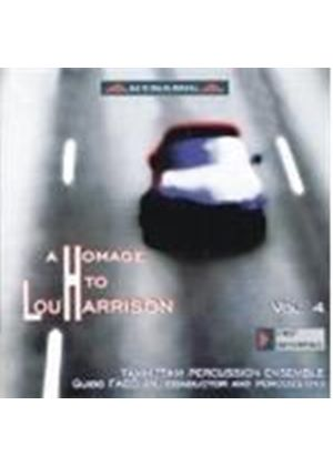 Harrison, L: Homage to Lou Harrison, Vol 4