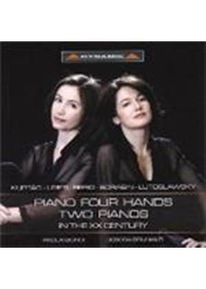 20th Century Piano Music for Four Hands