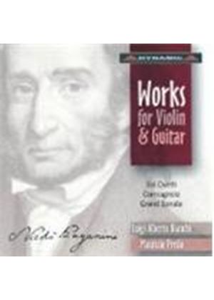 Paganini: Works for Violin & Guitar
