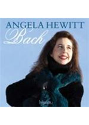 Angela Hewitt plays Bach (Music CD)