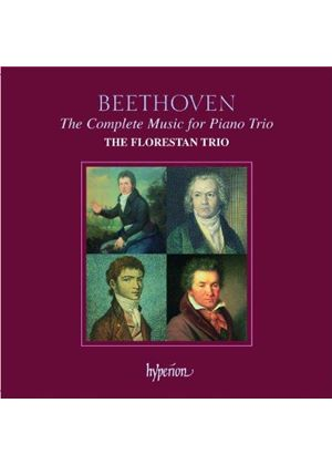 Beethoven: The Complete Music for Piano Trio (Music CD)