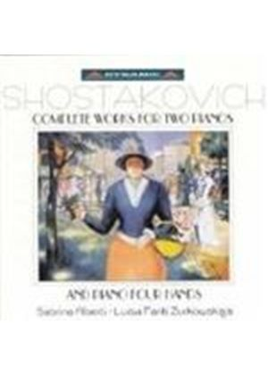 Shostakovich: Complete Works for Two Pianos & Piano Four Hands