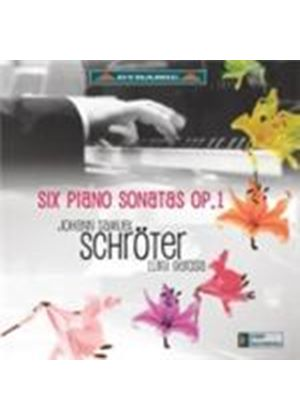 Schröter: (6) Piano Sonatas (Music CD)