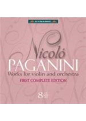 Paganini: Violin & Orchestra Works (Music CD)