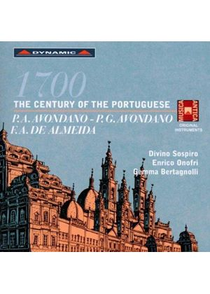 1700: The Century of the Portuguese (Music CD)
