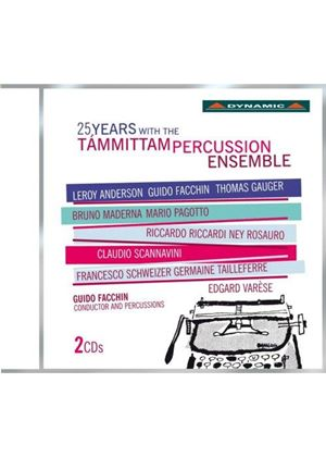 25 Years with the Tammittam Percussion Ensemble (Music CD)