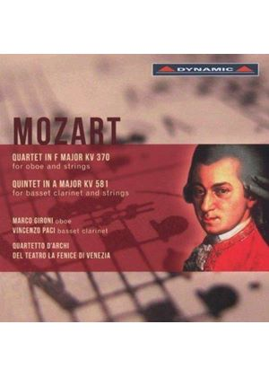 Mozart: Quartet; Quintet (Music CD)