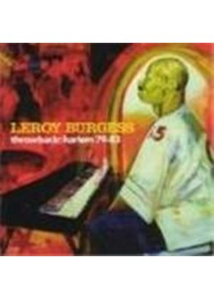 Leroy Burgess - Throwback: Harlem 79 - 83 (Music CD)