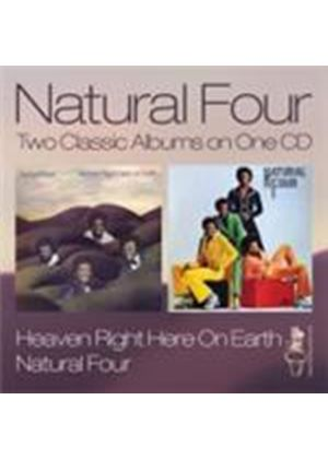 Natural Four (The) - Heaven Right Here On Earth/Natural Four (Music CD)