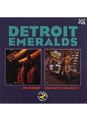 Detroit Emeralds - Do Me Right/You... (Music CD)