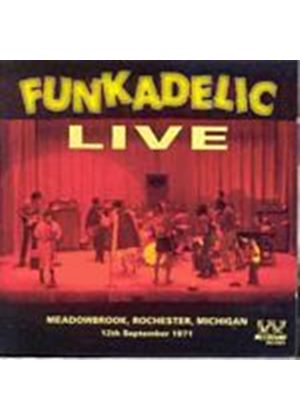 Funkadelic - Live Meadowbrook Rock (Music CD)