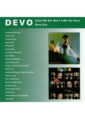 Devo - Q: Are We Not Men? A: We Are (Music CD)