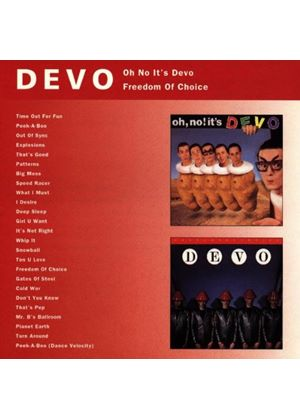 Devo - Oh No Its Devo/Freedom Of (Music CD)