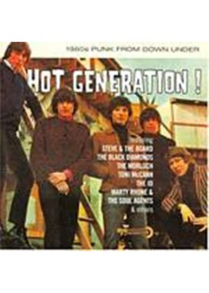 Various Artists - Hot Generation - 1960s Punk From Down Under (Music CD)