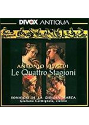 Vivaldi: (The) Four Seasons; Concertos (Music CD)