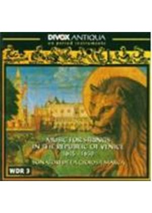 Music for Strings in the Republic of Venice (1615-30) (Music CD)