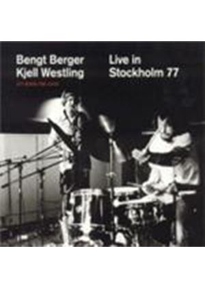 Bengt Berger & Kjell Westling - Live In Stockholm 1977 (Music CD)