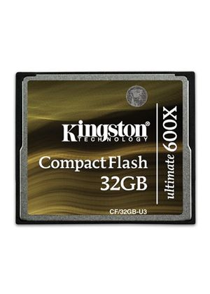 Kingston CompactFlash Ultimate 32GB Memory Card 600X with Recovery Software