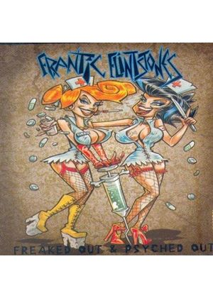 Frantic Flintstones - Freaked Out & Psyched Out (Music CD)