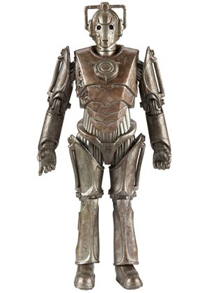 Doctor Who Series 6 Action Figure - Corroded Cyberman with Face Damage