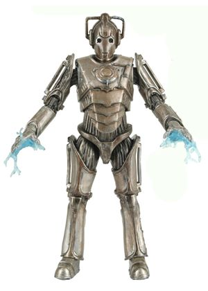 Doctor Who Series 6 Action Figure - Corroded Cyberman with Limb Damage
