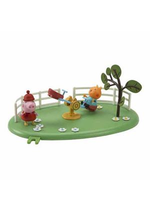 Peppa Pig Playground Pals - Candy Cat and See Saw