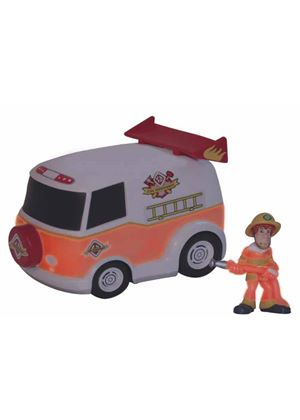 Scooby Doo Glow in the Dark Mystery Mates: Fire Department Van and Shaggy Set