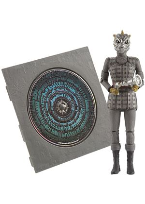 Doctor Who: Pandorica Action Figure CD Collection - Silurian Warrior