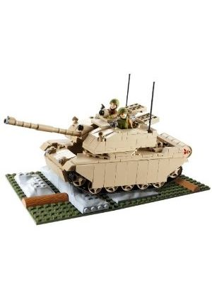 HM Armed Forces: Character Building - Challenger 2 Tank Set