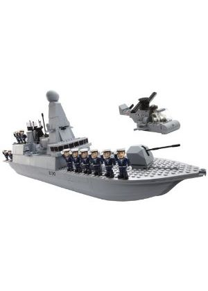 HM Armed Forces: Character Building - Type 45 Royal Navy Destroyer