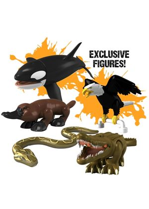 Deadly 60: Character Building - Deadly 5 Pack (Python, Platypus, Crocodile, Orca & Eagle)