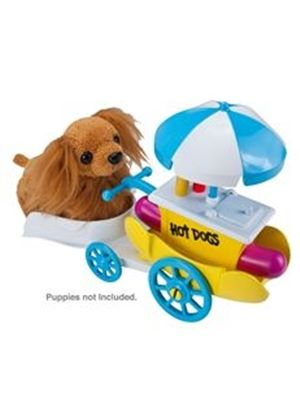 Zhu Zhu Puppies - Push Hot Dog Stand