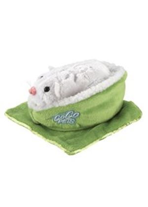 Zhu Zhu Pets Hamsters Accessory Pack - Green Bed and Blanket (Go Go Pets)