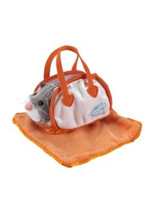 Zhu Zhu Pets Hamsters Accessory Pack - Orange Carrier and Blanket (Go Go Pets)