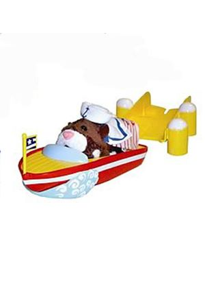 Zhu Zhu Pets Hamster Add-On Playset - Boat and Dock (Go Go Pets)