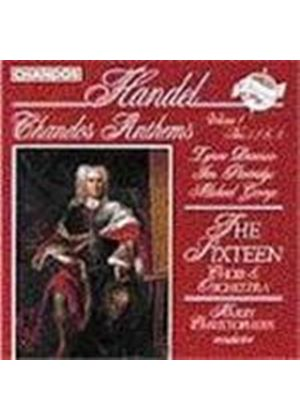 Handel: Chandos Anthems Nos 1-3