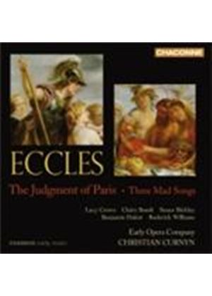 Eccles: (The) Judgment of Paris; Three Mad Songs (Music CD)