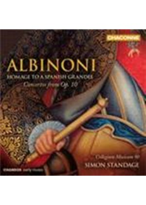 Albinoni - Homage to a Spanish Grandee (Music CD)