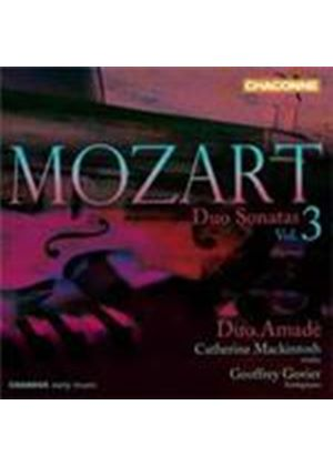 Mozart: Duo Sonatas, Vol 3 (Music CD)