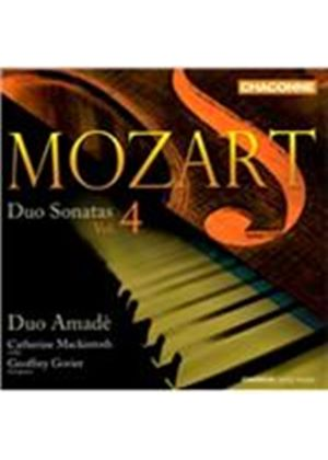 Mozart: Duo Sonatas, Vol. 4 (Music CD)