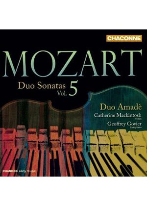 Mozart: Duo Sonatas, Vol. 5 (Music CD)