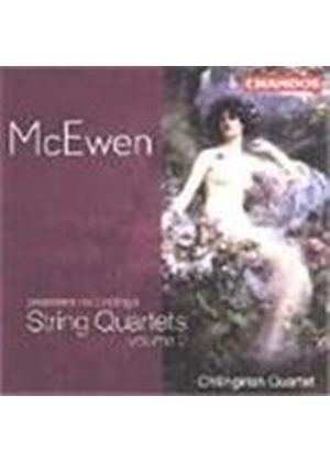 McEwen: String Quartets Volume 2