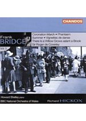 Frank Bridge - Frank Bridge Vol. 3 (Hickox, Whiting, Shelley) (Music CD)