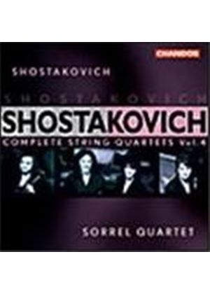 Shostakovich: String Quartets Volume 4