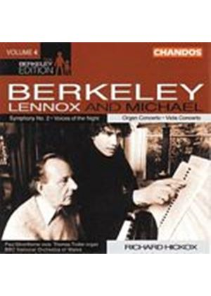 Lennox & Michael Berkeley - The Berkeley Edition - Vol. 4 (Hickox, BBC NO Of Wales) (Music CD)