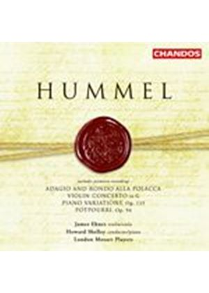 Johann Nepomuk Hummel - Violin Concertos, Piano Variations (Shelley, LMP, Ehnes) (Music CD)