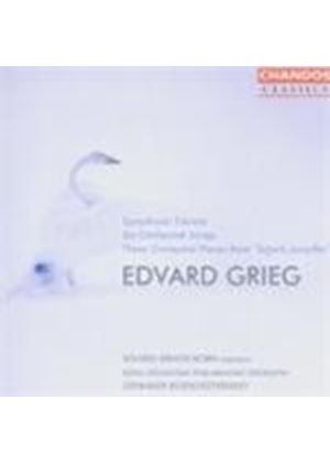 Grieg: Symphonic Dances; (6) Orchestral Songs