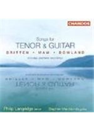 Britten; Dowland; Maw: Songs for Tenor and Guitar