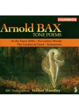 Arnold Bax - Tone Poems (Handley, BBC PO) (Music CD)
