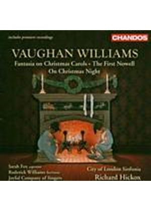 Ralph Vaughan Williams - Fantasia On Christmas Carols, The First Nowell (Hickox) (Music CD)